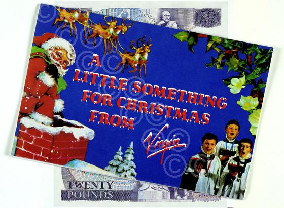 Virgin Records Christmas Card 02