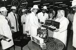 A2115 1983-09-07 Diana Princess of Wales  presented wit