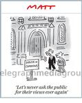101561003_Matt Cartoon House of Commons Let's never ask