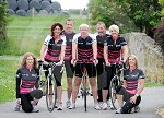 Caroline Keith and her Cycling team 01.jpg