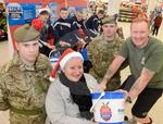 Caley Thistle and 7 Scots at Tesco 1.JPG