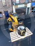 Drum Clock being put in to place 13.JPG