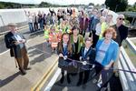 Muir of Ord bridge opening 01.JPG