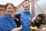 241127M TV presenter Steve Miller visits Cats Protectio