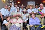261405LA Trinity House Care Home mexican wave as part o