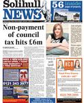 Solihull News Front 110113.jpg
