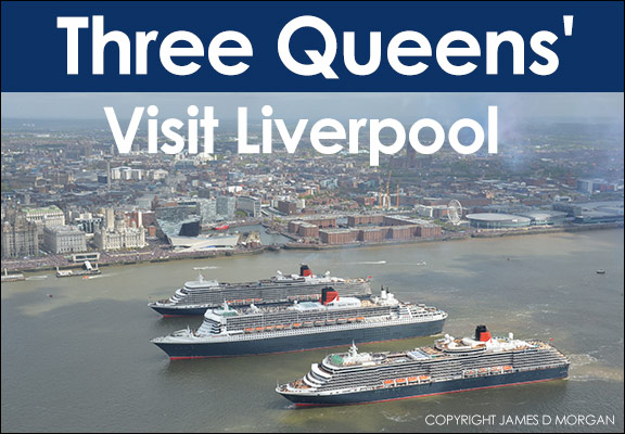 Three Queen Visit Liverpool