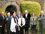 NDG HIGH SHERIFF CEREMONY outside church group2.JPG