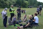 badger police chatting protesters.jpg