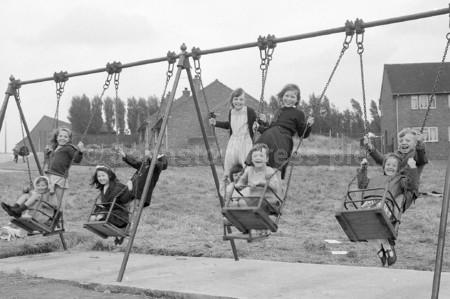 1965 Ollerton Childrens on Swings 2.jpg