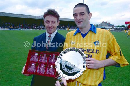 May 1998 Player of the Year pres to Steve Whitehall.jpg