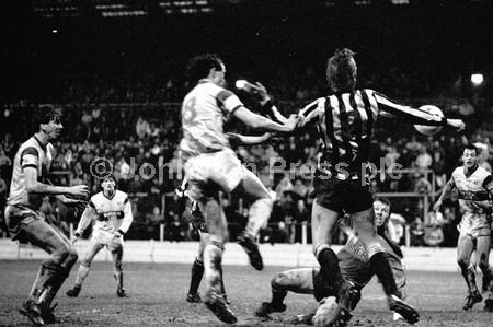 Stags v Bath City Jan 1988 Kevin Kent and Simon Coleman.jpg