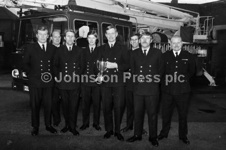 1973 Mansfield Firemen and the Notts County Council Eff