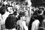 Stags v Forest Aug 1987 George Foster lifts the County