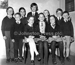 Pupils of Scoil Ide winners at Feile Luimni in 1972 ili