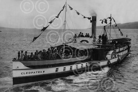 5. MAY - Photograph showing the Cleopatra, which was a