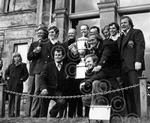 American Golf Team at St Andrews Pictured after they we