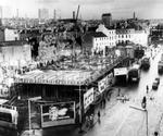 11 Undated picture of building work progressing in the