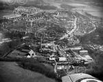 38. Aerial view of Peterculter with the Culter Paper Mi