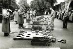 12. An intense game of draughts in Union Terrace Garden
