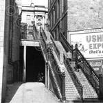 15. Climbing the stairs from The Green to Union Street