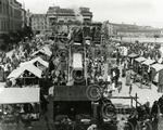 12. A view overlooking the Lady Mary Fair held at Green
