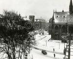 1. A pretty snow covered McManus Galleries and gardens