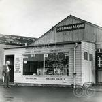 100.  McLennan Marine shop in the harbour which produce