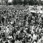 107. The Jubliee May Fayre attracted the crowds when it