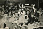 C4018 1984-04-11 Dundee United fans celebrate in Athlet