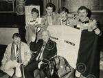C4018 1987-03-12 Dundee United fans at Plough bar (C)DC