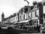 4. April -  Banchory's High Street in April 1966. At th