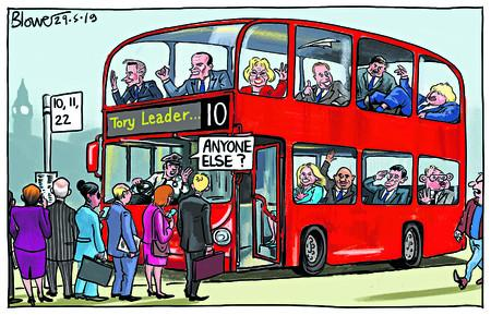 198937898 Tory leadership contest bus queue Anyone else