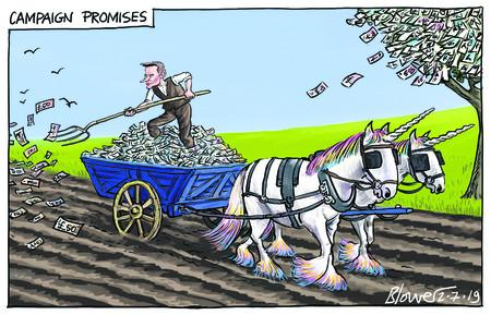 202521438 Campaign promises Jeremy Hunt money unicorns