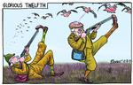 206223604__Blower Cartoon glorious twelfth 12 august 20