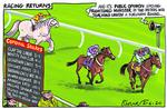 232251073__Blower Cartoon 2 june 2020 horse racing covi