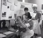 69 1222B Nurses at an open day at the Garlands Hospital