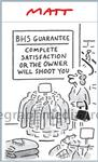 100199017 BHS Guarantee Complete Satisfaction Or The Ow