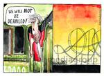 149501841 We will not be derailed Theresa May train rol