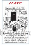 199722520 Exhange of gifts No 10 Trump visit President