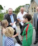 Alex Salmond with new affordable housing budget.JPG