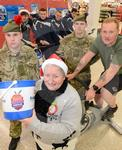Caley Thistle and 7 Scots at Tesco 2.JPG