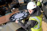 Drum Clock being put in to place 06.JPG