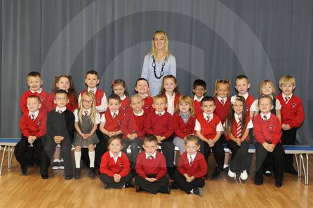 Avenue End Primary School. Class P1A.jpg