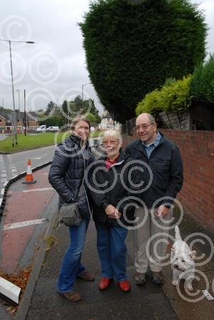 421423M Hagley residents and Cllr happy at speed calmin