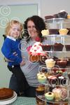 061229M Cake sale for Bliss charity at Poppyfields Kind