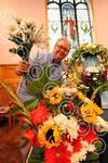 301416AM Flower festival Carters Lane Baptist Church Ha