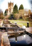 111118L Kidderminster church & canal scene.jpg