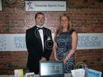 Toby Wood and Lyndsey Whiteside from the Tameside Sport